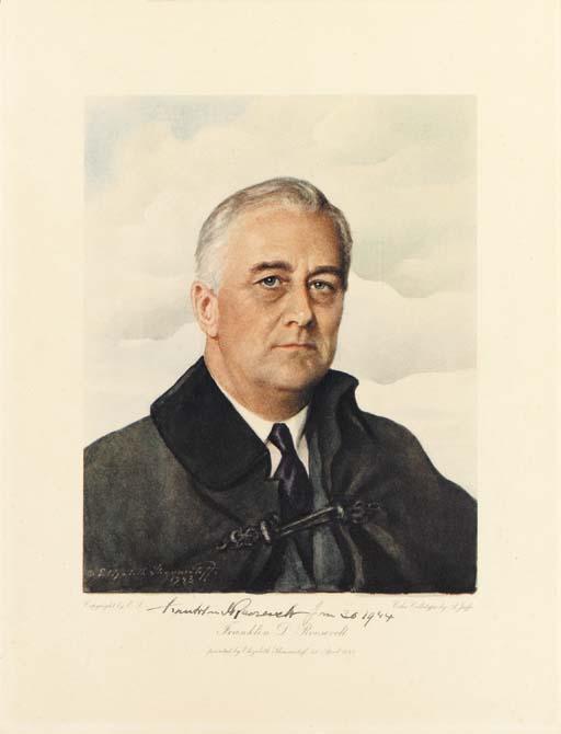 ROOSEVELT, Franklin D. SHOUMAT