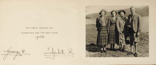GEORGE VI and QUEEN ELIZABETH.