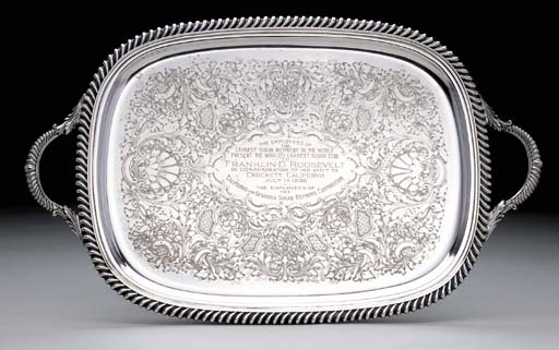 AN AMERICAN SILVER-PLATED PRES
