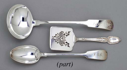 A GROUP OF AMERICAN SILVER AND