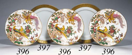 TWELVE ROYAL CROWN DERBY DESSE