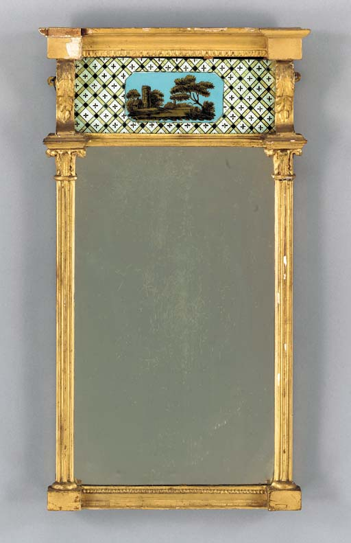 A FEDERAL GILTWOOD AND EGLOMIS