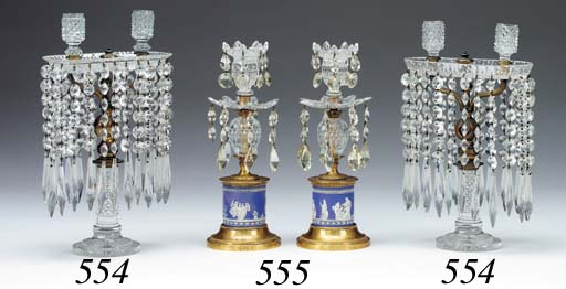 A PAIR OF GEORGE III STYLE CUT