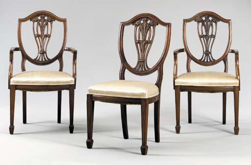 A SET OF THREE LATE VICTORIAN