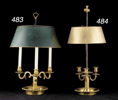 A LOUIS XVI STYLE ORMOLU AND T