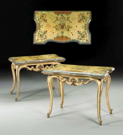 A PAIR OF SOUTH ITALIAN ROCOCO