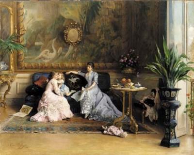 Gustave de Jonghe (Belgian, 18