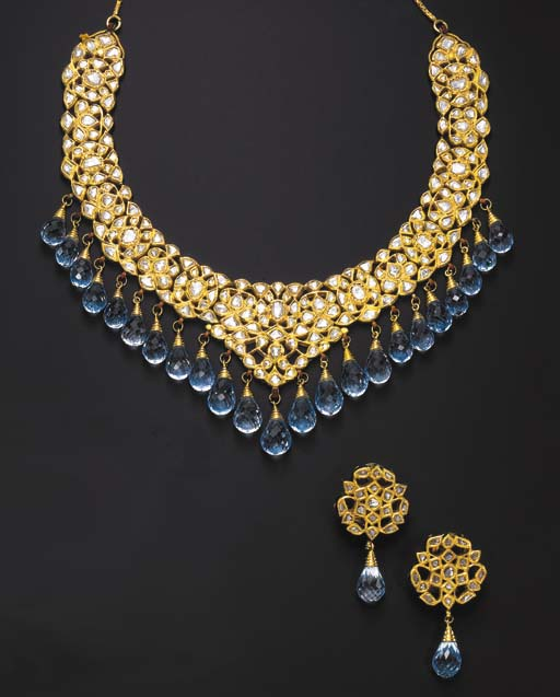 A SUITE OF INDIAN DIAMOND, TOP