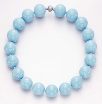 A TURQUOISE NECKLACE, BY PAOLO