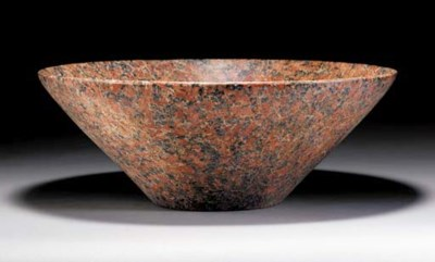 A LARGE EGYPTIAN RED GRANITE B