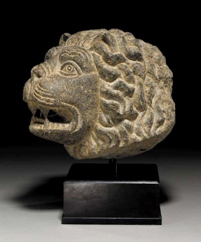 A NEO-HITTITE BASALT HEAD OF A