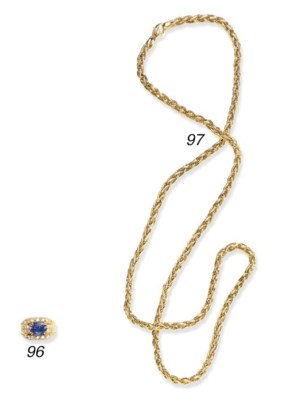 A GOLD CHAIN, BY HARRY WINSTON