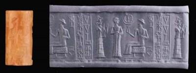 AN OLD BABYLONIAN CARNELIAN CY