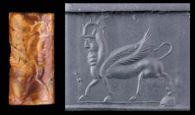 A GRAECO-PERSIAN RED AND ORANG