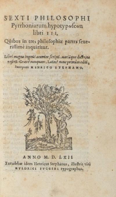 SEXTUS EMPIRICUS (2nd and 3rd