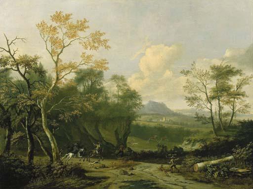 Attribuito a Dirk Maes (1659-1