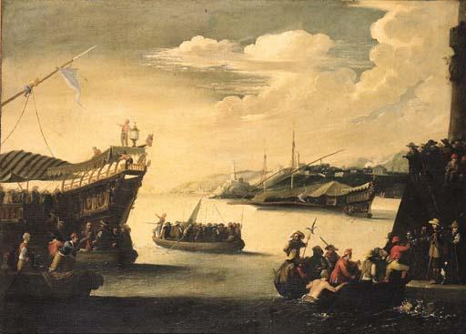 Cerchia di Agostino Tassi (156