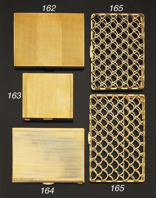 Coppia di portasigarette in or