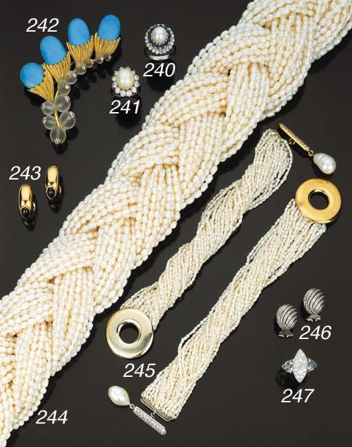 Coppia di bracciali in perle c