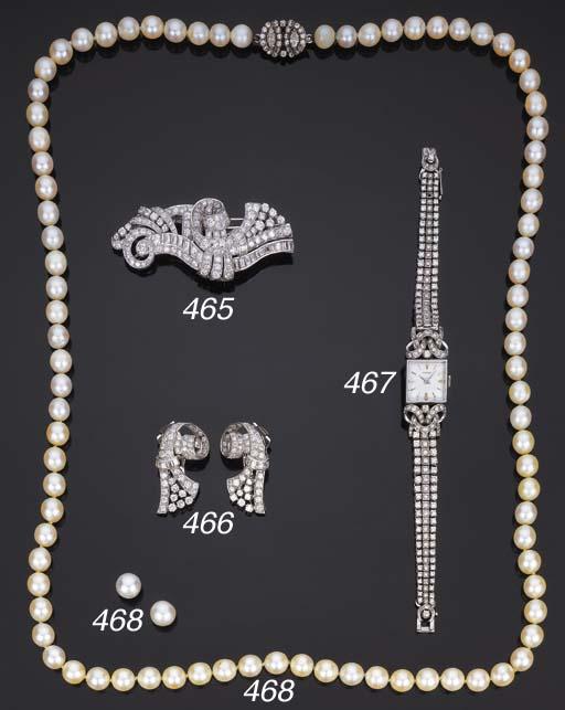 Doppia clip in diamanti