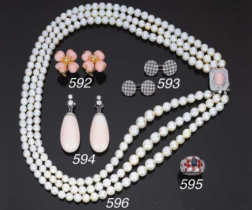 Collana in perle coltivate, co