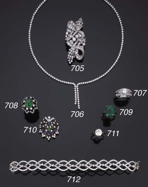 Spilla in diamanti, di Illario