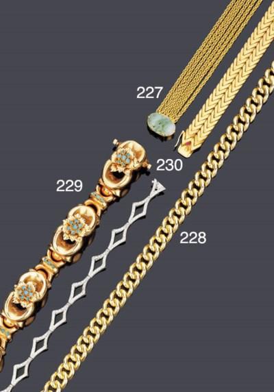 Bracciale semisnodato in brill
