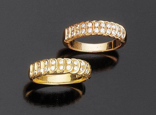 Due anelli con brillanti