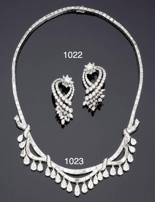 Importante collana in diamanti