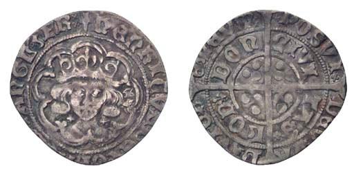 Henry VII, Groat, 2.48g., clas