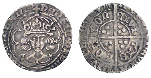 Henry VII, Groat, 2.87g., clas