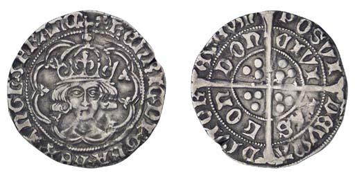 Henry VII, Groat, 2.88g., clas