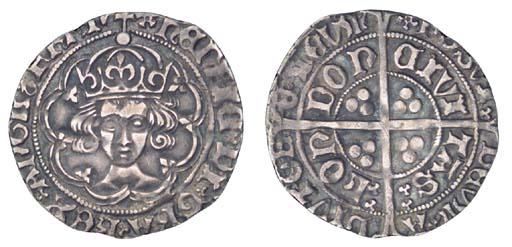 Henry VII, Groat, 2.77g., clas