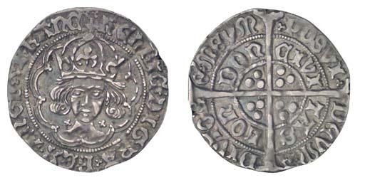 Henry VII, Groat, 2.94g., clas