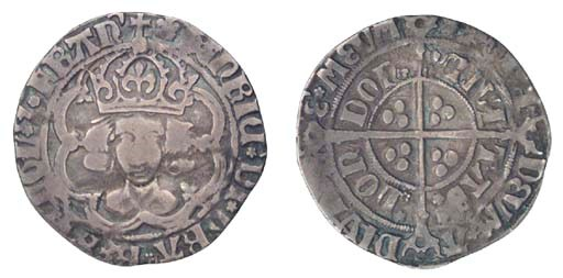 Henry VII, Groat, 2.65g., clas