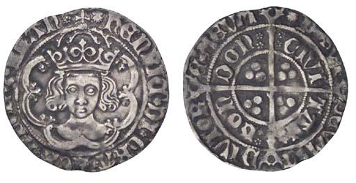 Henry VII, Groat, 2.95g., clas