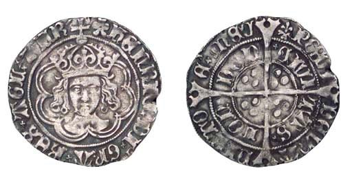 Henry VII, Groat, 2.78g., clas