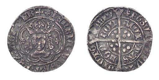 Henry VII, Groat, 2.52g., clas