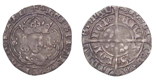 Henry VII, Groat, 3.27g., clas