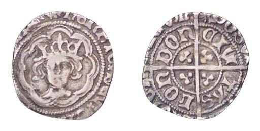 Henry VII, Halfgroat, 1.29g.,