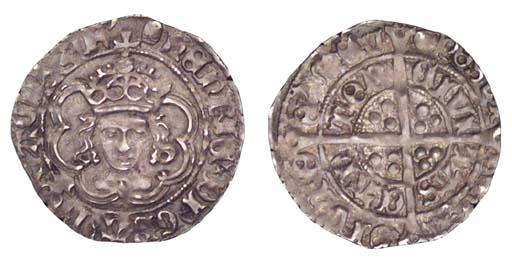 Henry VII, Halfgroat, class II