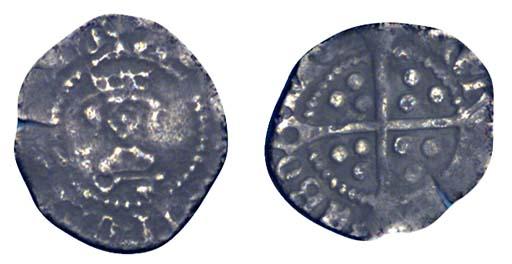 Henry VII, Halfpenny, 0.34g.,