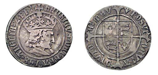 Henry VII, Groat, 3.02g., tent