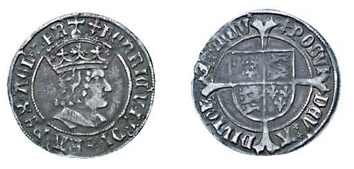 Henry VII, Groat, 2.96g., tent