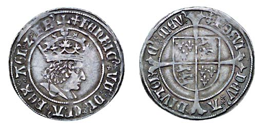 Henry VII, Groat, 2.99g., regu
