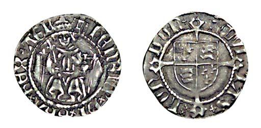 Henry VIII, Penny, 0.81g., fir