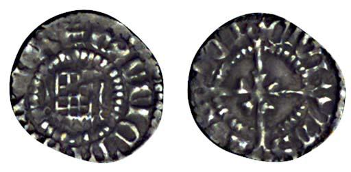 Henry VIII, Farthing, 0.16g.,