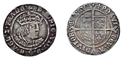 Henry VIII, Groat, 2.66g., sec