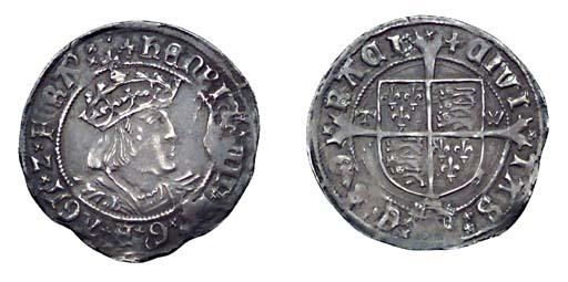 Henry VIII, Groat, 2.78g., sec