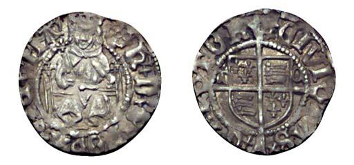 Henry VIII, Penny, 0.60g., sec